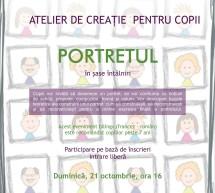 Portretul 3 – atelier de desen si pictura pentru copii