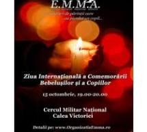 """Organizatia E.M.M.A. va celebra pe data de 15 octombrie – """"Ziua Internationala a Comemorarii Bebelusilor si a Copiilor"""""""
