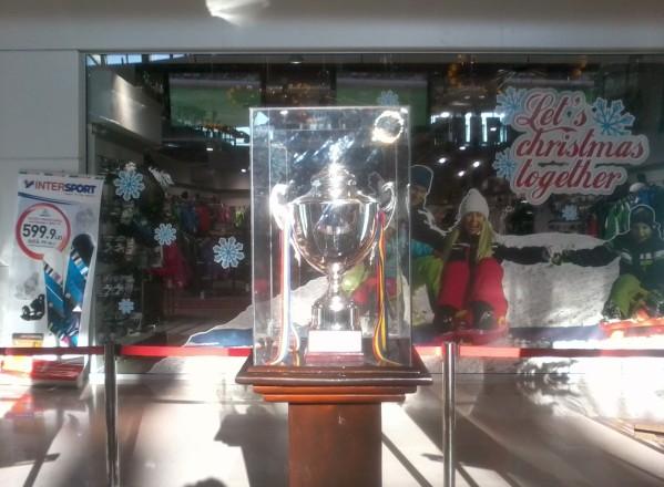 Trofeul campionilor a ajuns la Iulius Mall