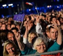 Croatia a aderat la Uniunea Europeana. Zeci de mii de persoane s-au strans la Zagreb pentru a sarbatori evenimentul