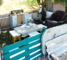 """Ingeniozitate tipic romaneasca. Cum arata """"oaza de liniste"""" a paznicului de la groapa de gunoi"""