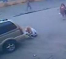Gestul socant al unui sofer dupa ce a lovit un bebelus aflat într-un carucior