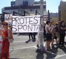 A doua zi de proteste la Directia de Finante a Judetului Timiş