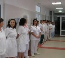In judetul Timis noul proiect de lege privind salarizarea medicilor se incheie cu proteste
