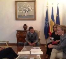 Presedintii ENPA si STD au fost primiti de Ambasadorul Romaniei in Italia