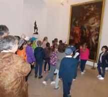 Tablouri cu povesti la Palatul Baroc