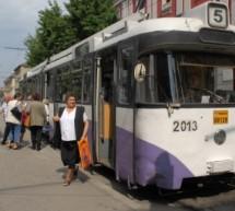 Devierea liniilor 5 si 6 tramvaie, sambata 1 noiembrie