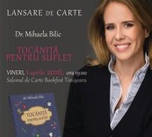 Dr Mihaela Bilic, o noua carte in premiera la Bookfest Timisoara