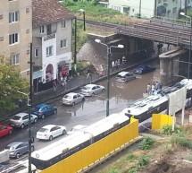 Devieri din cauza ploii
