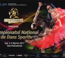 Se da startul in sezonul intern 2017 la Dans Sportiv