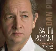 Sa fii roman: Dan Puric isi lanseaza noul volum la Timisoara