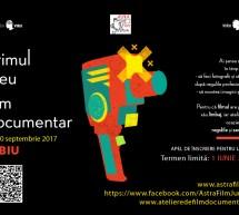 S-a deschis sesiunea de inscrieri la PRIMUL MEU FILM