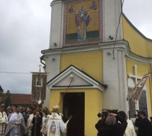 Sfintirea Bisericii Romanesti din Apateu, Ungaria