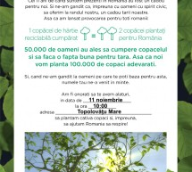 In Topolovatu Mare va avea loc actiunea de plantare de puieti