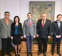 Consulul general al României la Gyula, Florin Vasiloni, în vizită oficială în oraşul Oroshaza