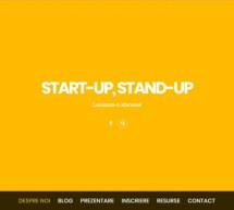 """Lansare proiect """"Start-up, Stand-up"""""""