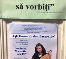 """Marcarea Centenarului Unirii Basarabiei cu România la Gyula – """"Ești floare de dor, Basarabie!"""""""