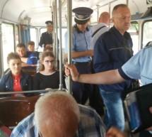 Controale pe mijloacele de transport in comun si modificare traseu