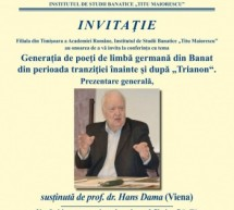 Conferință academică Hans Dama din Viena