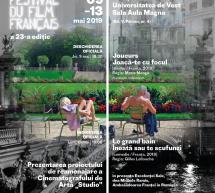 Festivalul Filmului Francez la Timișoara, 9-13 mai, Universitatea de Vest (sala Aula Magna)