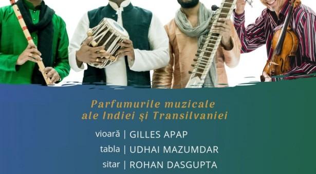 West Meets East – Parfumurile muzicale ale Indiei și Transilvaniei la Timișoara