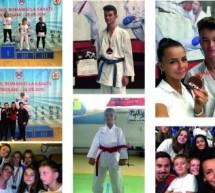 Medalii obținute de sportivii Clubului Golden Karate la concursuri naționale și internaționale