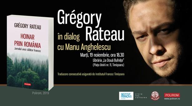 """Hoinar prin România. Jurnalul unui călător francez"" de Grégory Rateau"