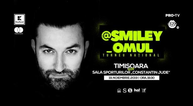 Concert Smiley la Timișoara
