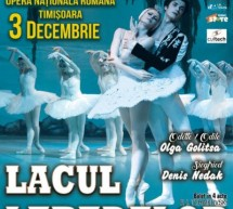 Lacul Lebedelor – celebra companiei de balet din Kiev, la Timisoara