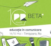 PRbeta celebrează 10 ani de educație în comunicare