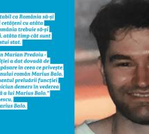 Pasivitatea autorităților române privind transferul cetățeanului român Marius Balo