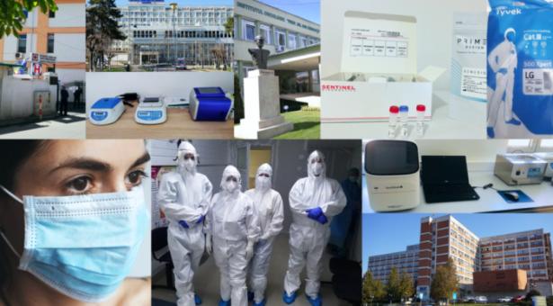 E.ON a sprijinit 16 spitale implicate în lupta împotriva Covid 19