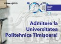 Calendarul admiterii 2020 la Universitatea Politehnica Timișoara