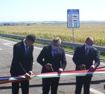 Deschiderea punctului de frontieră Borş II- Nagykereki şi inaugurarea noii conexiuni între România şi Ungaria pe autostradă