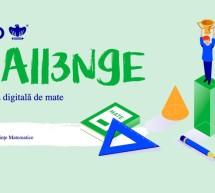 A doua ediție a olimpiadei digitale de matematică, BRIO CHALLENGE, debutează pe 15 aprilie