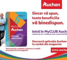 Auchan România lansează programul de fidelitate MyCLUB Auchan