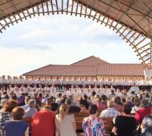 Corul Bucovina în concert la Micherechi (Mehkerek), Ungaria