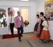 Inaugurarea noii Săli de Sport de la Şcoala din Chitighaz, Ungaria
